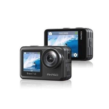 Najlepsza kamera sportowa Akaso Brave 7 LE 4k +ze.