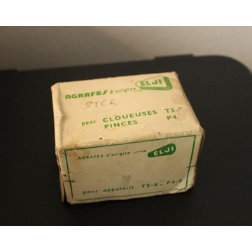 Agrafes t5-8 p4-8 Stare zszywki 12mm 5000 szt