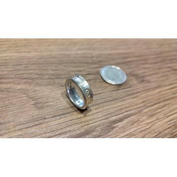 Tiffany & Co. Srebrny pierścionek PR.925 8g r.14