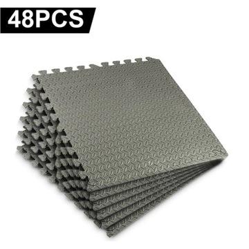 60x60 cm 48 sztuk mat piankowych siłownia