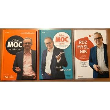 2x Pełna Moc + Rozmyślnik ZESTAW Jacek Walkiewicz