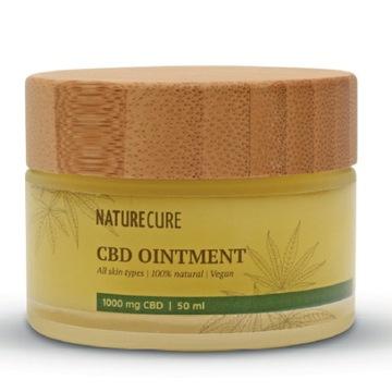 Maść konopna CBD 10% Olej kokosowy: choroby skóry