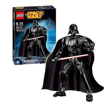 KLOCKI SPACE WARS 160 ele  darth vader