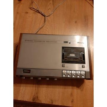 philips stereo cassette recorder n 2400
