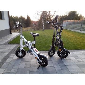 Rower skuter elektryczny składany hulajnoga