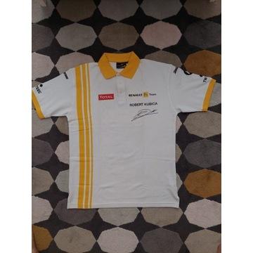 Koszulka  RENAULT F1 TEAM  KUBICA
