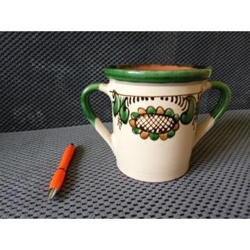 ciekawa donica doniczka osłonka ceramiczna OKAZJA!