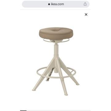 Stołek Trollberget IKEA beżowy