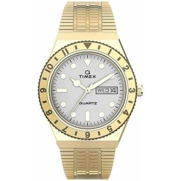 Timex Q watch zegarek Złoty Q Reissue  TW2U95800