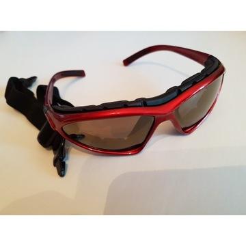 Okulary Ochronne Gogle -2w1z filtrem [Indiana USA]