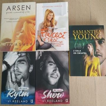 Zestaw 5 książek literatura kobieca