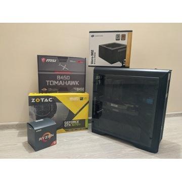 Gamingowy PC / RYZEN 5 2600/GTX 1070 Ti/16GB RAM