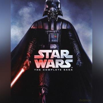 Gwiezdne Wojny: Kompletna Saga [9Blu-Ray]