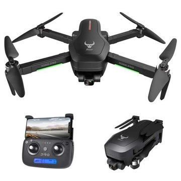 Dron SG906 PRO GPS WiFi 4k Gimbal 3 baterie, 1300m