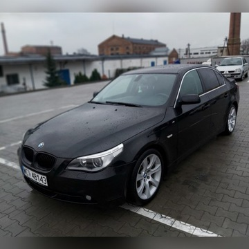 BMW E60 3.0i BLACK SAPPHIRE, MANUAL