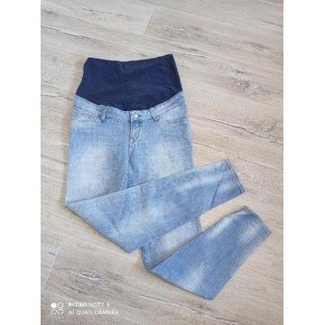 H&M Spodnie jeansowe ciążowe roz.S , stan Idealny