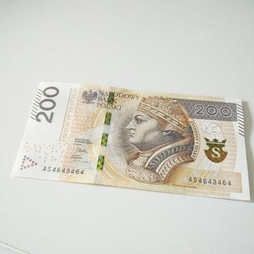 200 zł RADAR AS4643464 prosto z bankomatu
