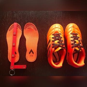 Buty adidas żwirówki roz 17,5 / super stan / WAWA