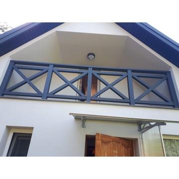 Barierki Drewniane, Balustrady Balkonowe, Barierki