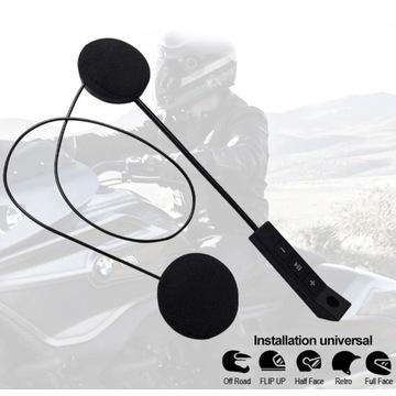 Bezprzewodowe Słuchawki Bluetooth Motocykl Kask