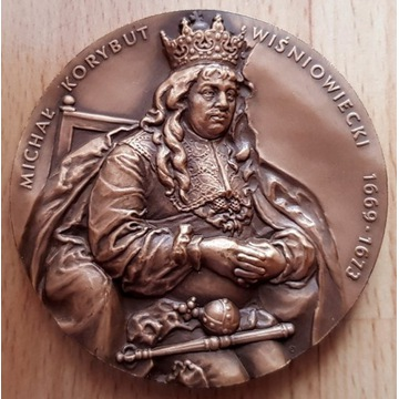 Korybut Wiśniowiecki - medal PTAIN PTN Koszalin