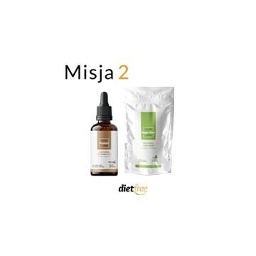 Misja 2 dietfree - Probioil + Vege Fiber