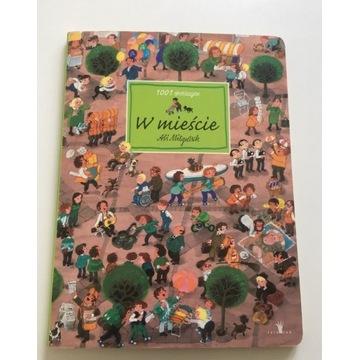 Książka dla dzieci -- 1001 drobiazgów w mieście