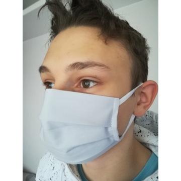 Maska Maseczka Bawełniana FILTR 5 SZT.