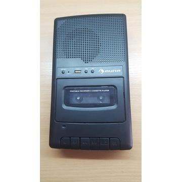 Radio odtwarzacz kasetowy RQ132 USB Auna