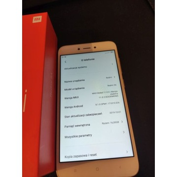 Xiaomi Redmi 5A w pełni sprawny