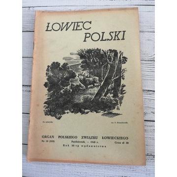 Łowiec Polski 1948 r. Nr.10 Pażdziernik