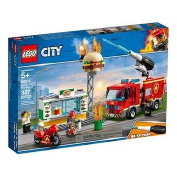 LEGO City Płonący bar 60214 prezent Dzień Dziecka