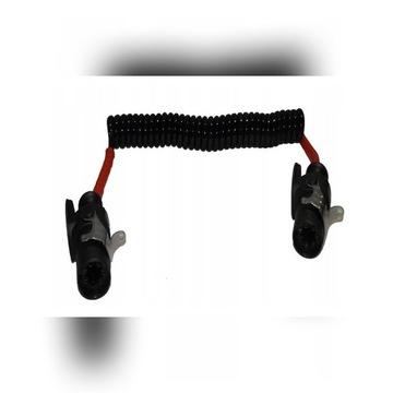 Przewód elektryczny ABS EBS 7PIN spiralny