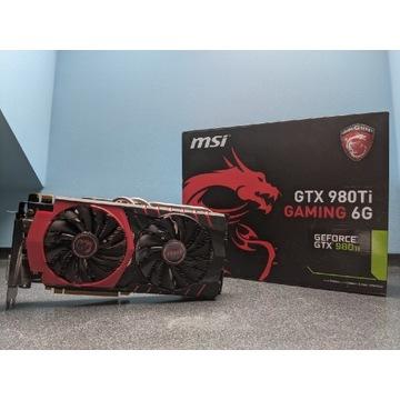 MSI GTX 980TI jak 1070 jak 1660 super BCM