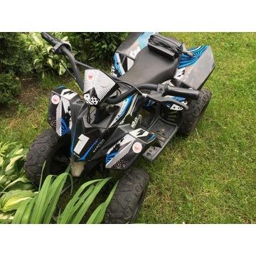 Ouad elektryczny Barton ATV E350 UPBEAT niebieski
