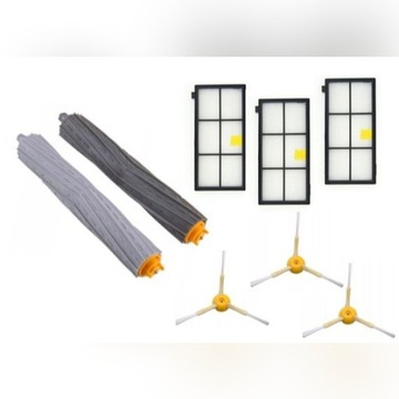 Irobot Roomba 800/900 filtr HEPA, szczotki, wałki
