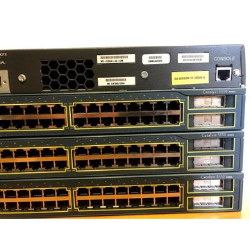 Switch Cisco Catalyst C3550-48 p +