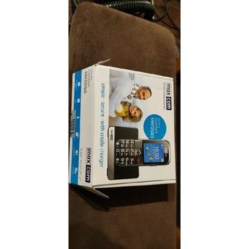Telefon dla seniora maxcom mm720 bb