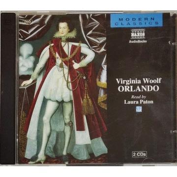 Virginia Woolf – Orlando CD audiobook 2 płyty