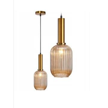 Lampa sufitowa toolight wisząca szklana styvintage