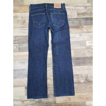Spodnie jeansowe Levis męskie 506 rozm. 32/32