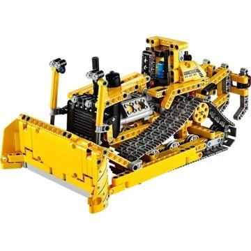 LEGO Technic zestaw żółty BULDOŻER L-42028