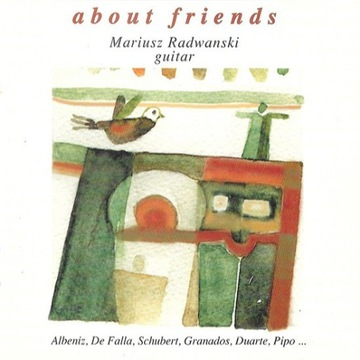 Mariusz Radwanski - About Friends - 1995 - CD
