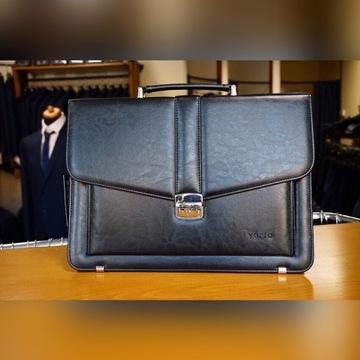 Elegancka czarna torba