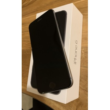 IPhone 6 space gray 32 GB - idealny stan