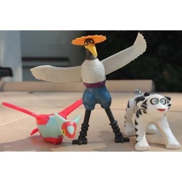 Zabawki z McDonald's: pokemon, bajki i inne.
