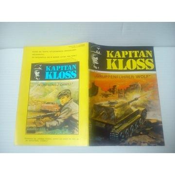 KAPITAN KLOSS GRUPPENFUHRER WOLF 1988 wyd. 2 BDB!!