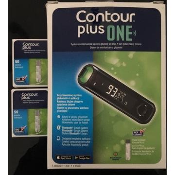 Contour Plus One + 100 pasków glukometr