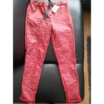 Spodnie woskowane gnieciuchy