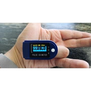 Pulsoksymetr puls natlenienie dorośli dzIECI